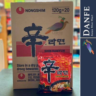 NongShim Shin Ramyun Noodle - 20 Packets Box