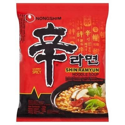 Shin Ramyun Noodle Soup 120G Single Loose