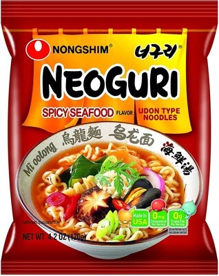 NONGSHIM NEOGURI (Seafood HOT) 120G