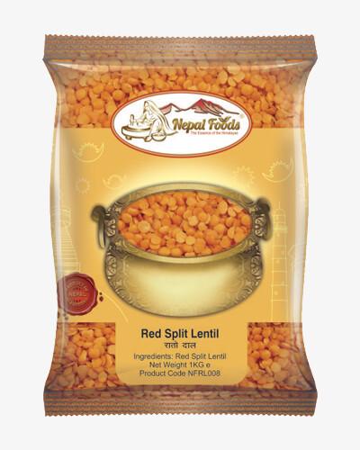 Red Split Lentils (Rato Dal) 1KG