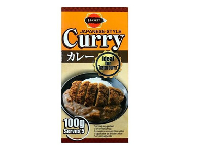 Japanese Style Curry Ideal for Katsu Curry 100G