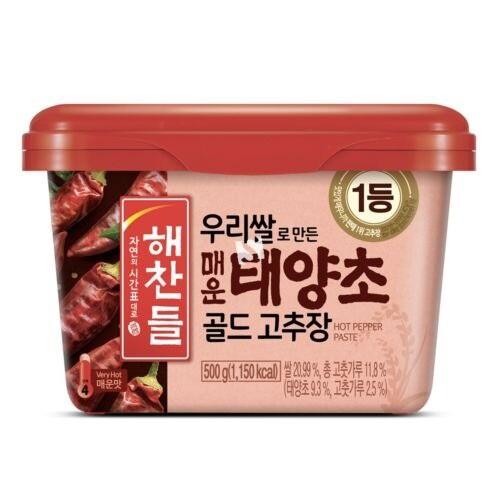 Gochujang Hot Pepper Paste (Hot) 500g