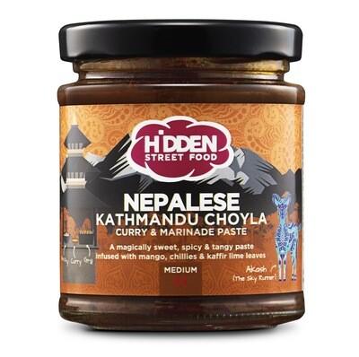 NEPALESE KATHMANDU CHOYLA Curry & Marinade Paste (175g)