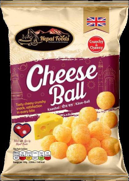 Cheese Ball Nepal Food