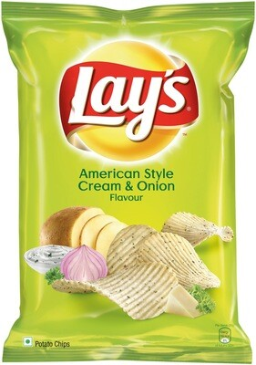 Lays American Style Cream and onion