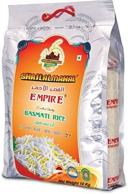 SHRILALMAHAL Empire Basmati Rice (Most Premium) (10 KG)