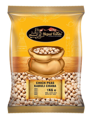 Chick Peas (chana)  1kg Nepal Foods