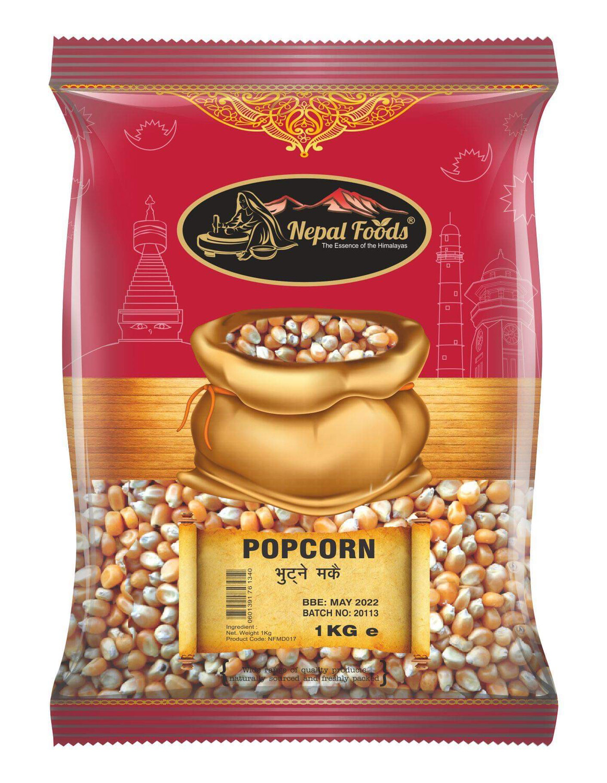Popping Corn 1kg  Nepal Foods