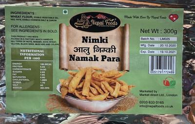 Nimki (Namak Para 300g) Nepal Foods