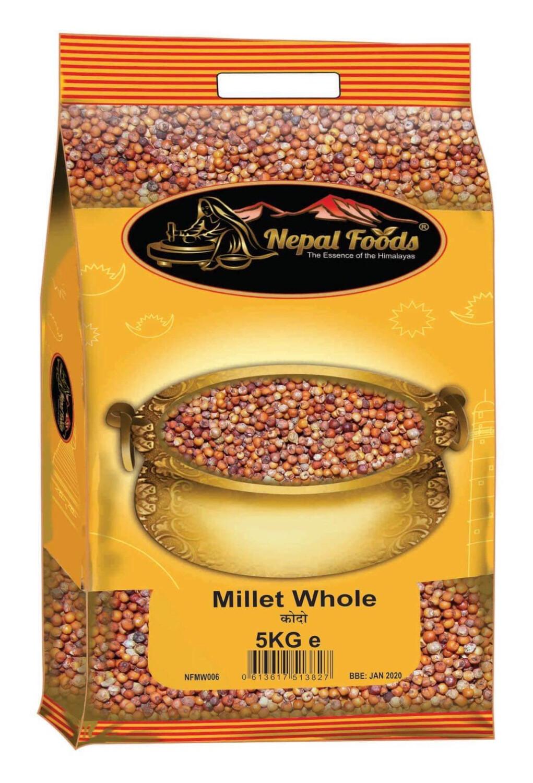 Millet Whole 5kg Kodo Bag