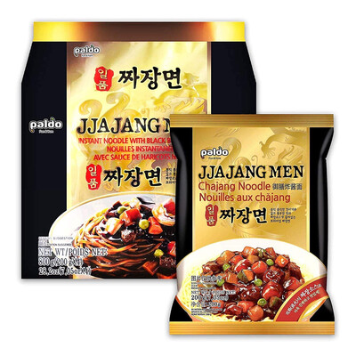 Paldo Jjajangmen(Chajang Zhajiangmian) 4pack