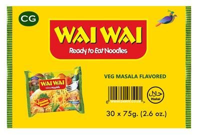 Wai Wai VEGETABLE 30pcs Box