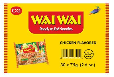 Wai Wai Chicken Box x30 Pcs