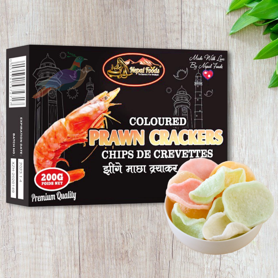 Prawn Crackers Coloured Nepal Foods 200g