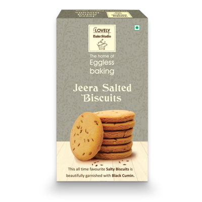 Jeera Salted Biscuits