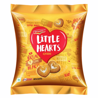 BRITANNIA LITTLE HEARTS 75g