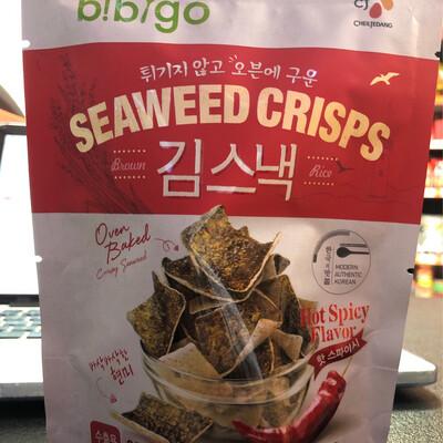 Seaweed Crisps 20g