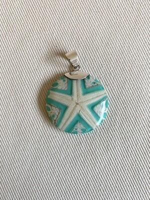 Ceramic Starfish Pendant