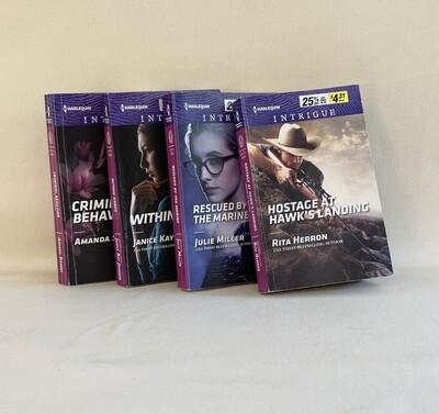 Harlequin Intrigue Book Set