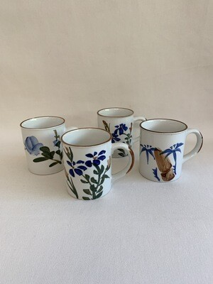 Hand Painted Cups (4)
