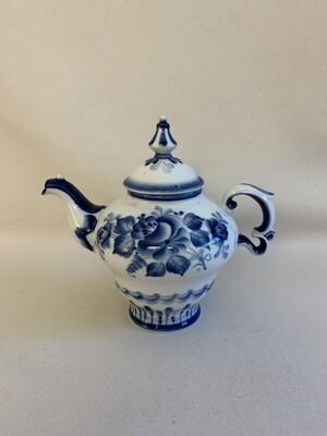 Vintage Russian Porcelain Teapot