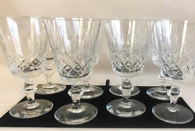 Set of Crystal Stemware (8)