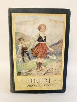Vintage Hardcover Copy of Heidi