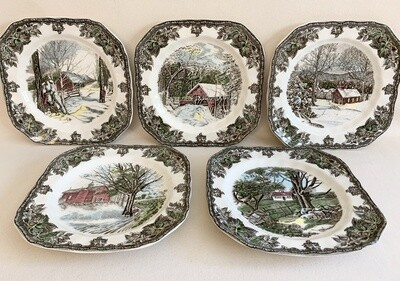 Johnson Brothers Friendly Village Plates (5)