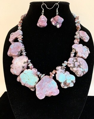 Artisan Necklace and Earrings Set