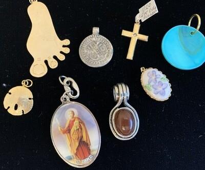 Jewelry Grab Bag of Pendants