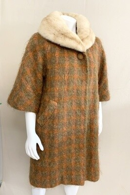 Lilli Ann Paris Swing Coat Circa 1960