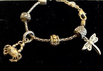 Genuine Brighton Charm Bracelet