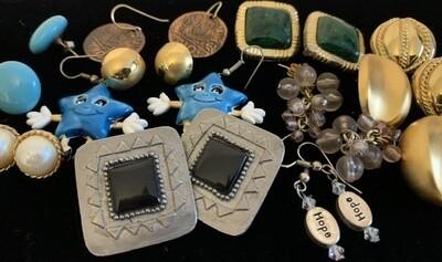 Jewelry Grab Bag of Earrings
