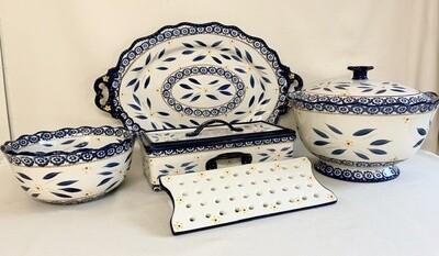 Temp-tations Stoneware (7) Pieces