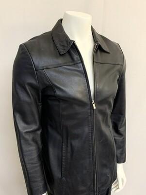 """Men's """"Alfani"""" Leather Jacket"""