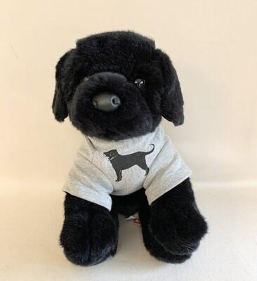 Black Dog Stuffed Animal