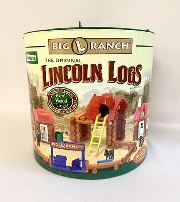 "The Original Lincoln Logs ""BIG L RANCH"""