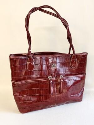 Giani Bernini Brown Leather Tote Bag
