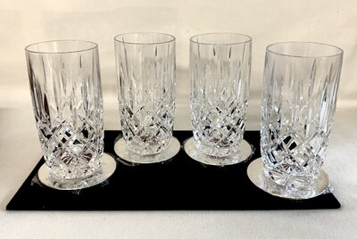 Gorham Crystal Lady Anne Highball Glasses-Set of 4
