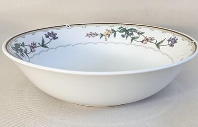 Bellegarden Fine Porcelain Round Vegetable Server from Citation