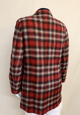 Woman's Eddie Bauer Plaid Oversized Jacket