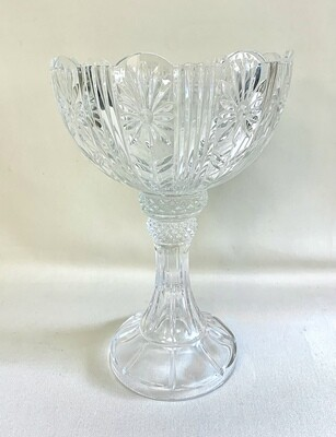 Pedestal Crystal Bowl by Shannon Crystal Designs of Ireland
