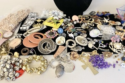 Jewelry Grab Bag of Craft Items