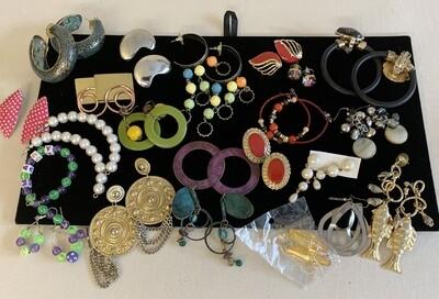 Jewelry Grab Bag of Large Earrings