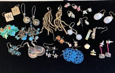 Jewelry Grab Bag of Fashion Earrings