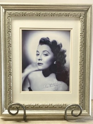 Autographed Photo of Ann Rutherford