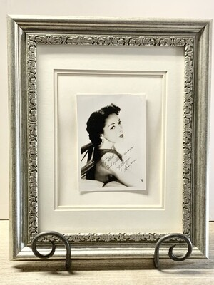 Autographed Photo of Kathryn Grayson