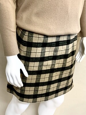 Woman's Style and Co. Wool Skirt