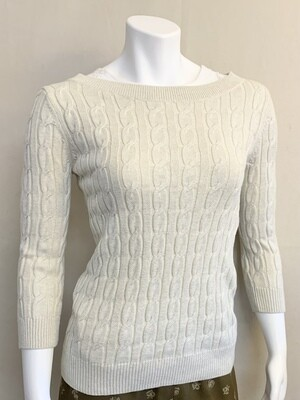 Woman's Drop Shoulder Sweater by the Loft