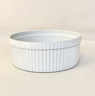 Pillivuyt Classic Large Pleated Soufflés                           Made in France